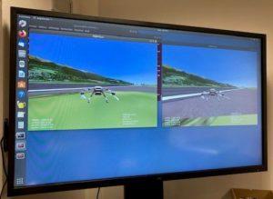 simulation de vol de drone CIDN