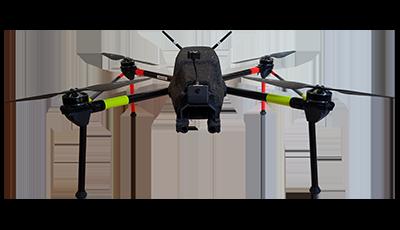 drone de surveillance autonome rapide squadrone system