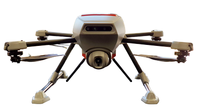 drone d'inspection apach squadrone system