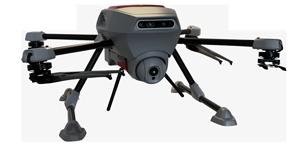 drone d'inspection et decontrole autonome squadrone system